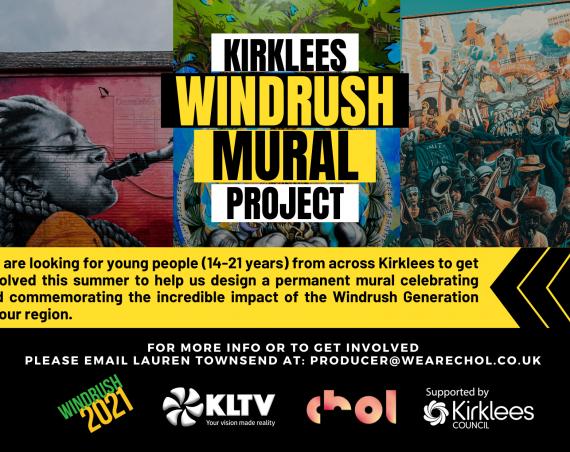 Kirklees Windrush Mural Call Out